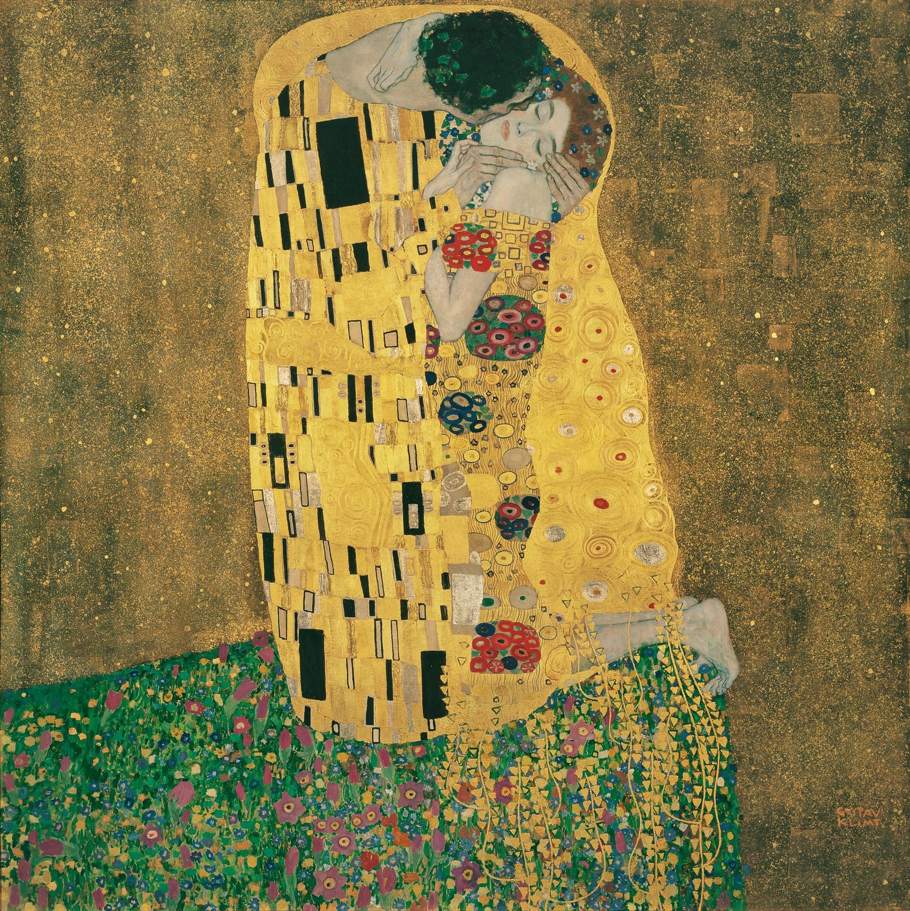 「クリムトの接吻、ある愛のいびつな物語」
