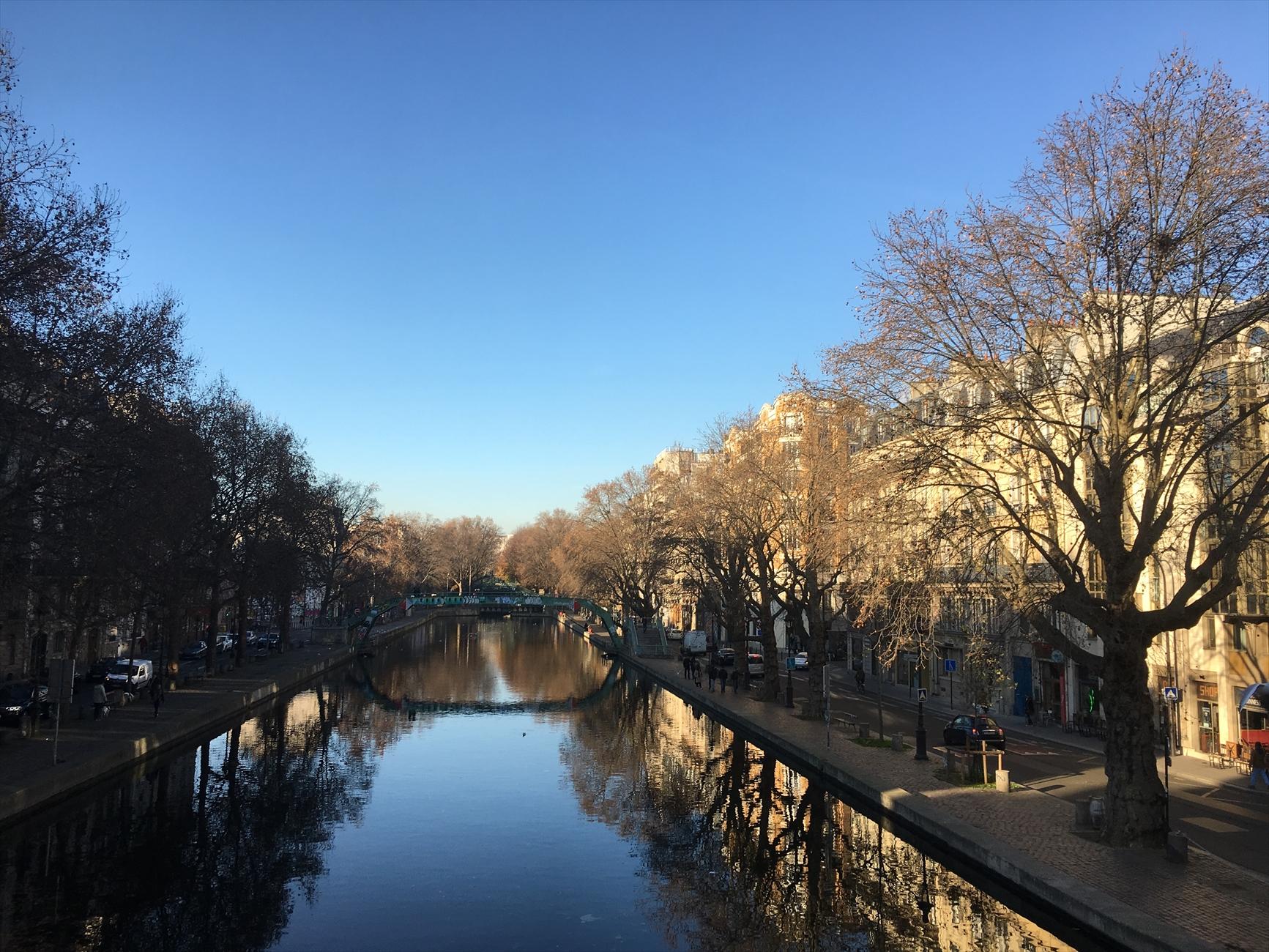 「サンマルタン運河、詩情」
