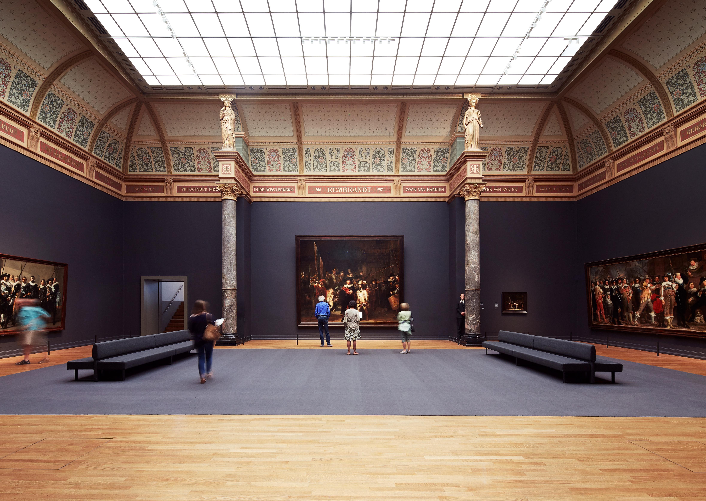 週末は家族みんなで目力アップ – アムステルダム国立美術館でスケッチを –