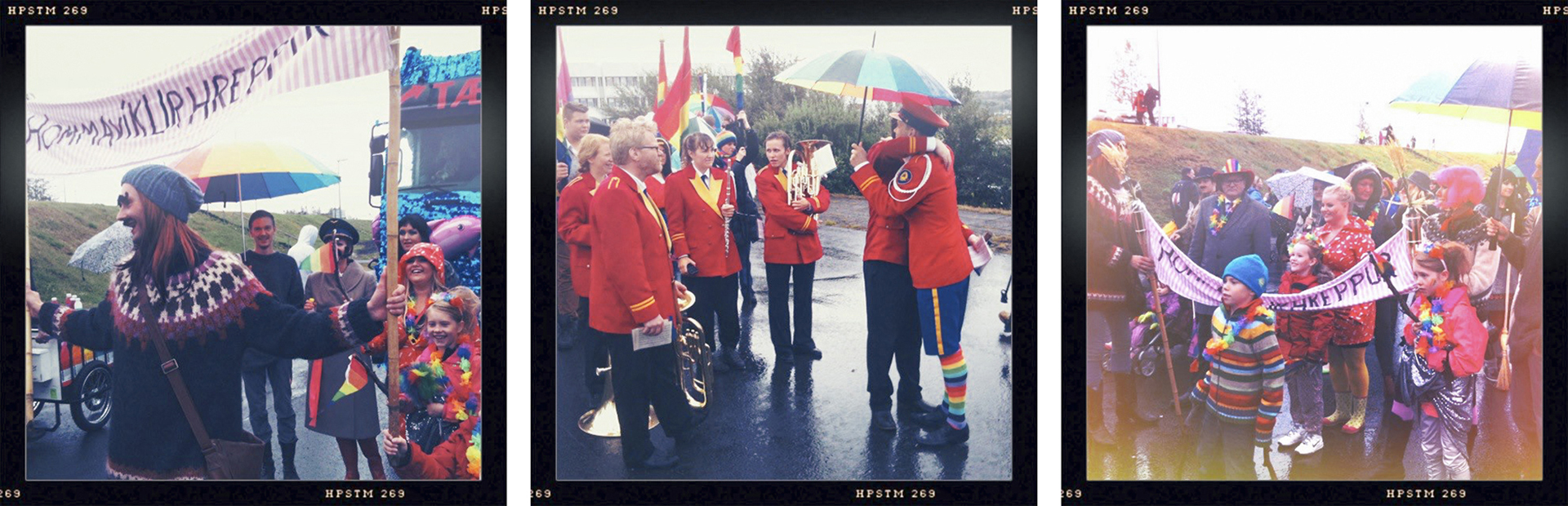 北の国のハッピーなプライドパレード