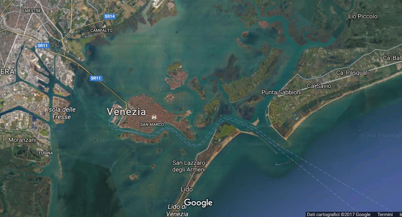 車が一台もない街、ヴェネツィアから