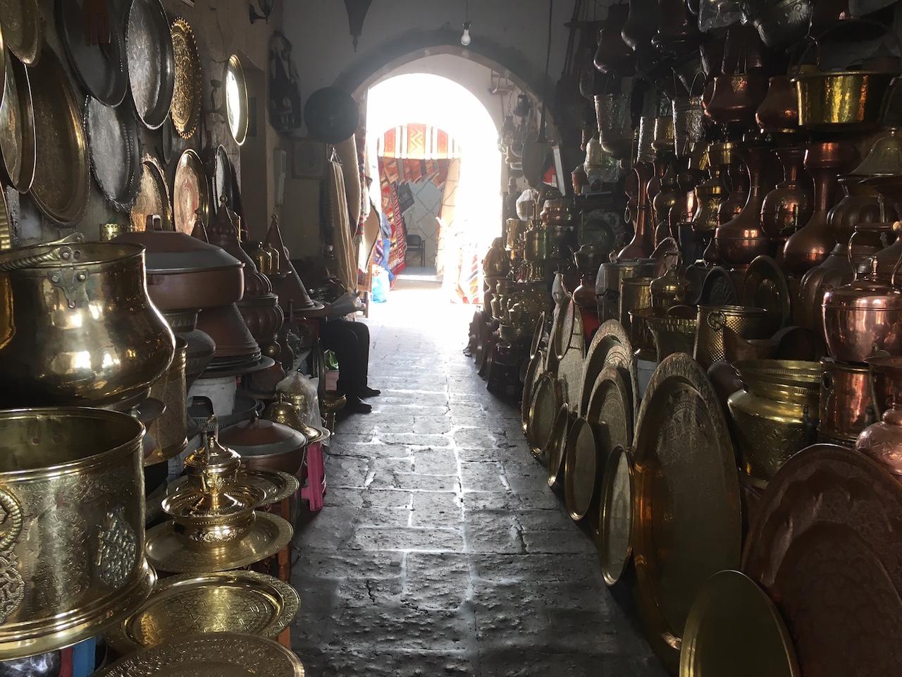 カサブランカの旧市街(メディナ)を歩く
