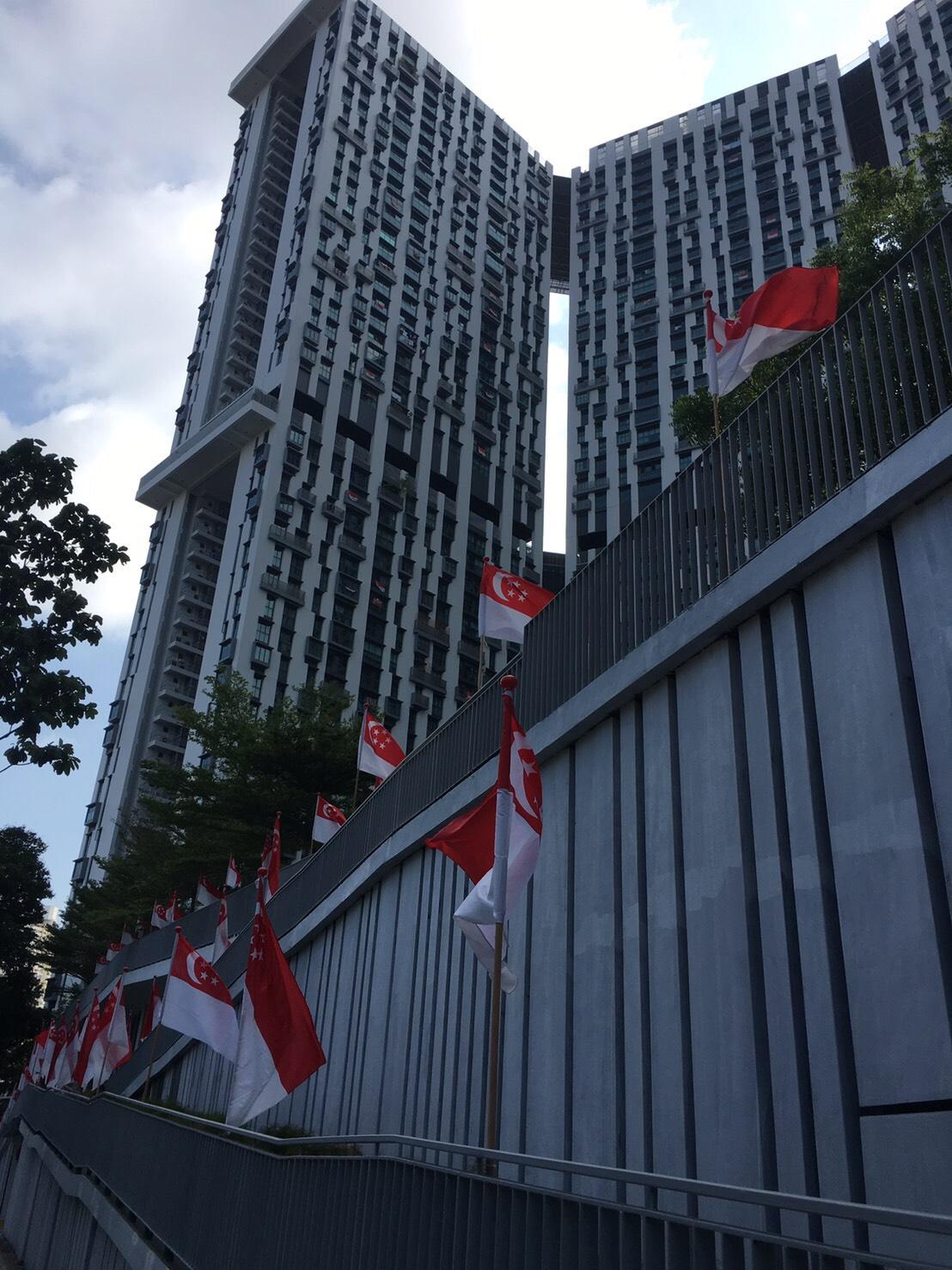 8月9日、シンガポールナショナル・デー