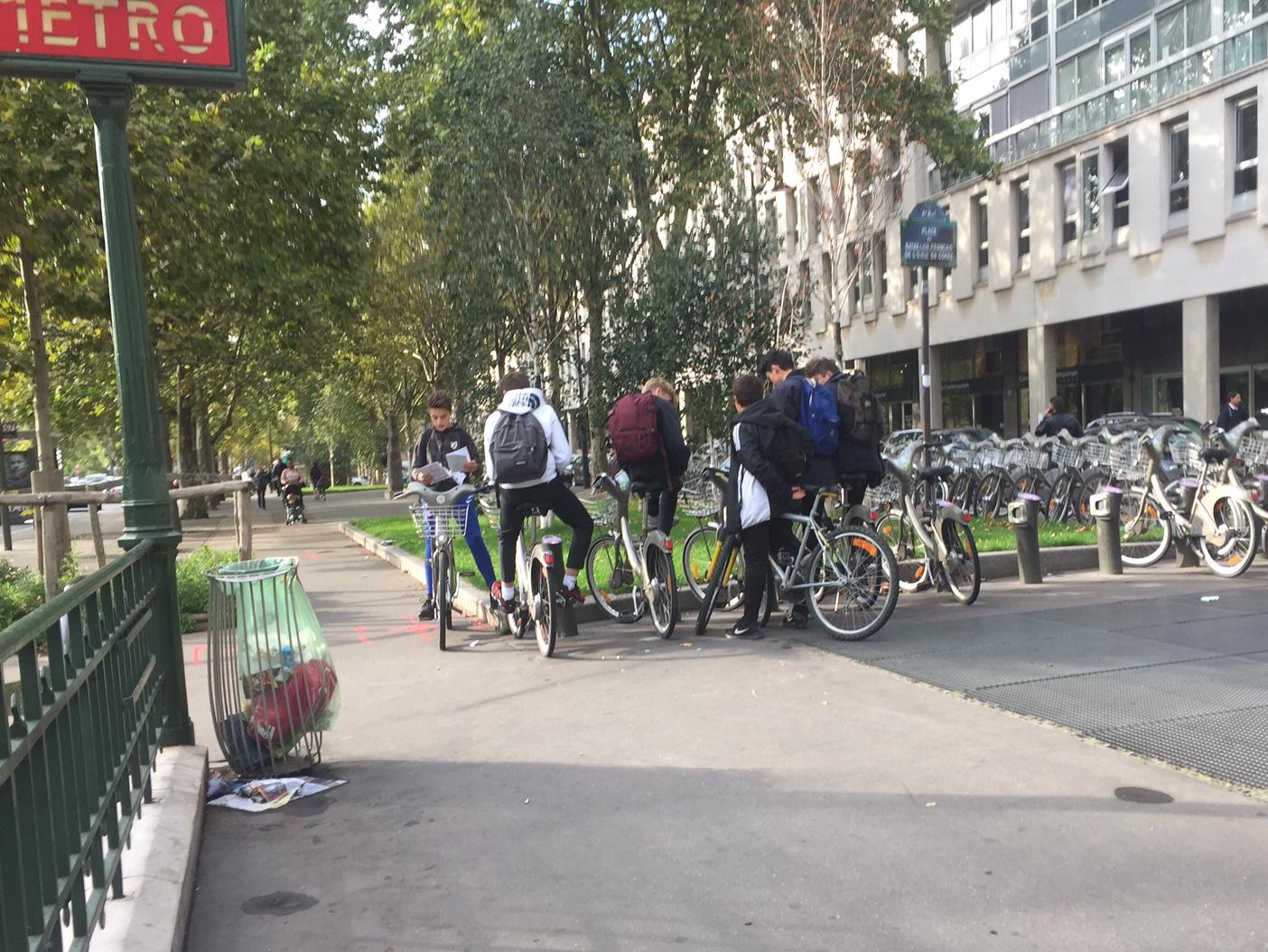 9月、パリの新学期はじまる。