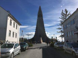 父子旅「アイスランドの首都、レイキャビック」