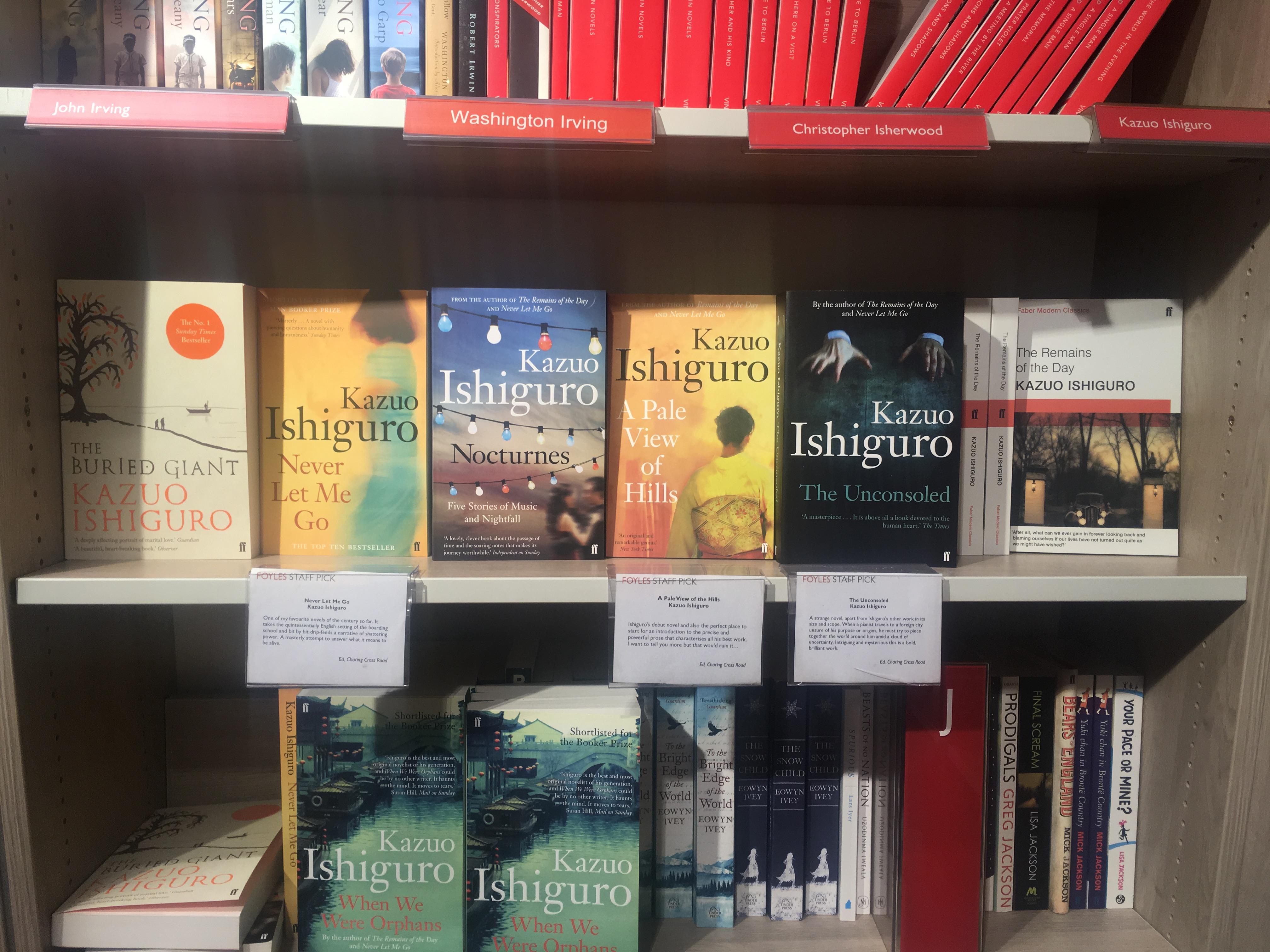 英国を代表する作家、イシグロ文学のルーツ