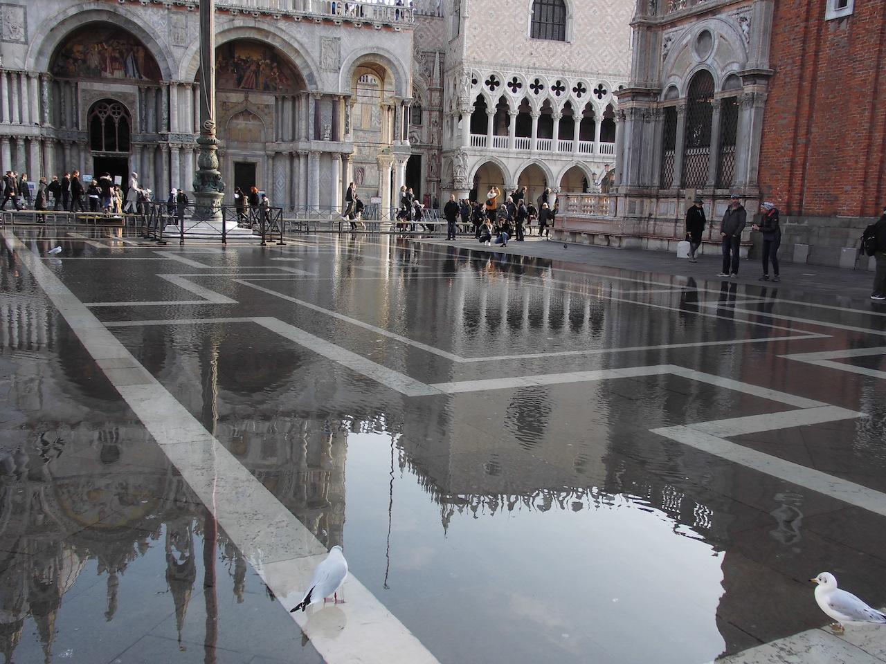 ヴェネツィアのアックア・アルタ