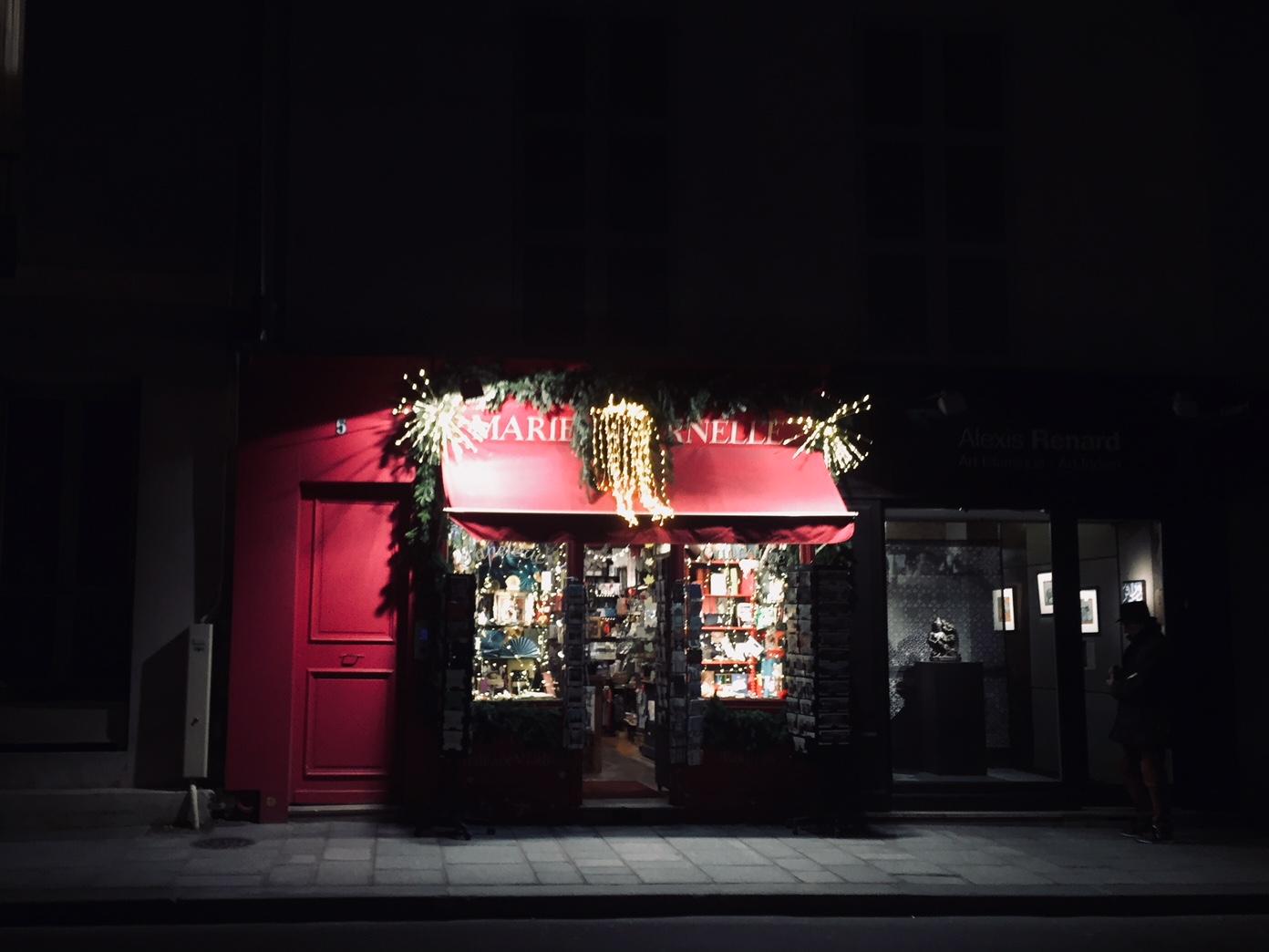 パリのクリスマス