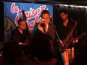 パリ、レアール地区でジャズに酔う。