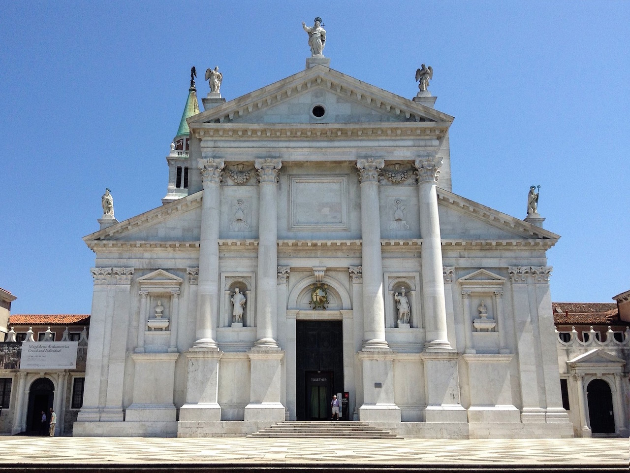 ヴェネチアの孤島、サン・ジョルジョ・マッジョーレ島の鐘楼