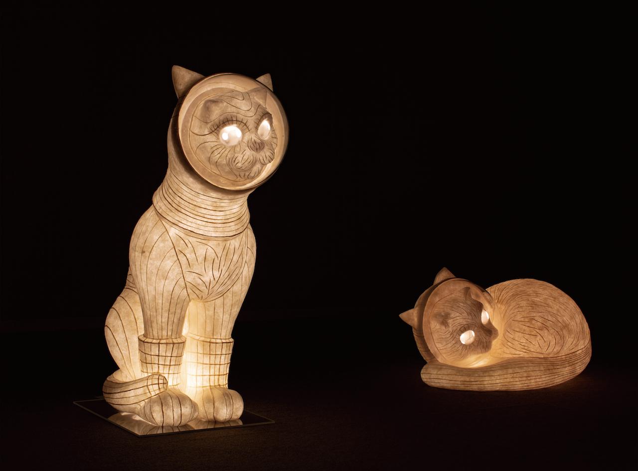 新・航海時代のSHIP'S CAT!ヤノベケンジ×堀木エリ子「SHIP'S CAT」展への意気込み。