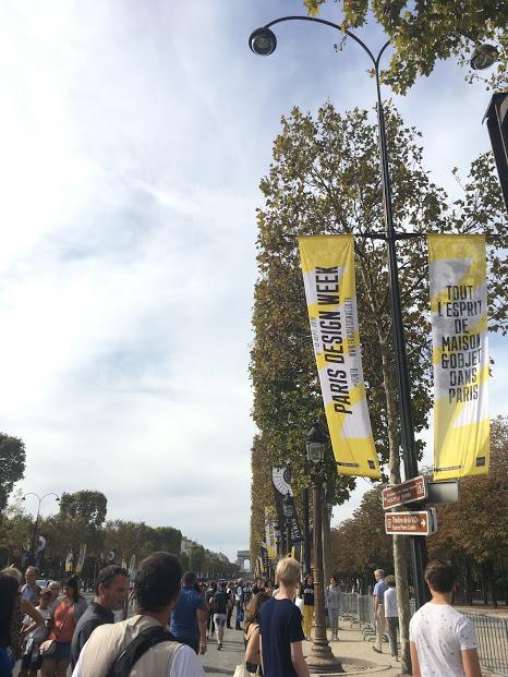 秋のパリで新しいデザインは生まれる!