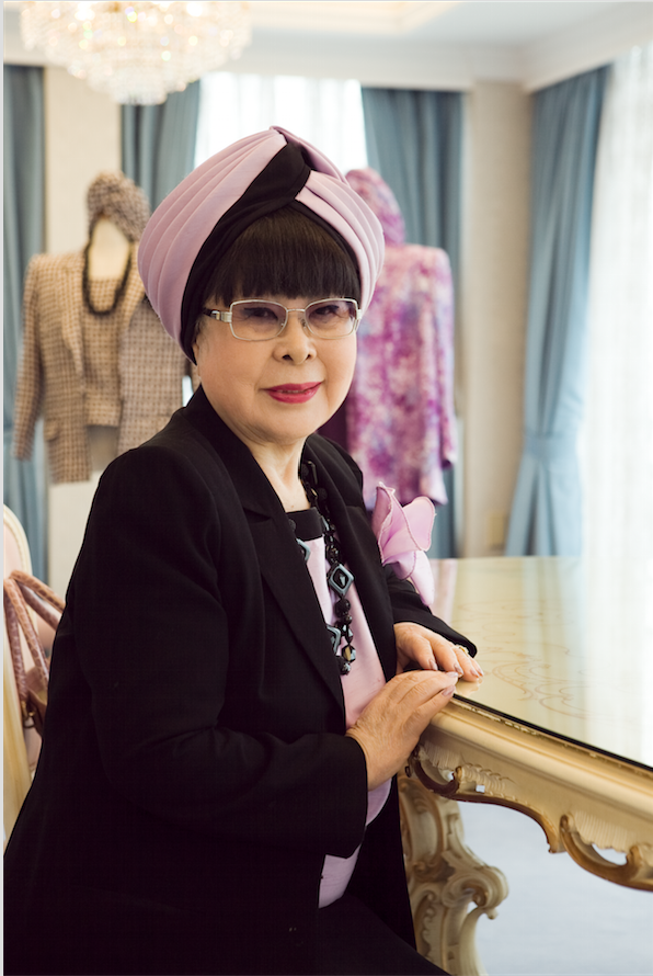 ザ・インタビュー「桂由美の終わらない挑戦」