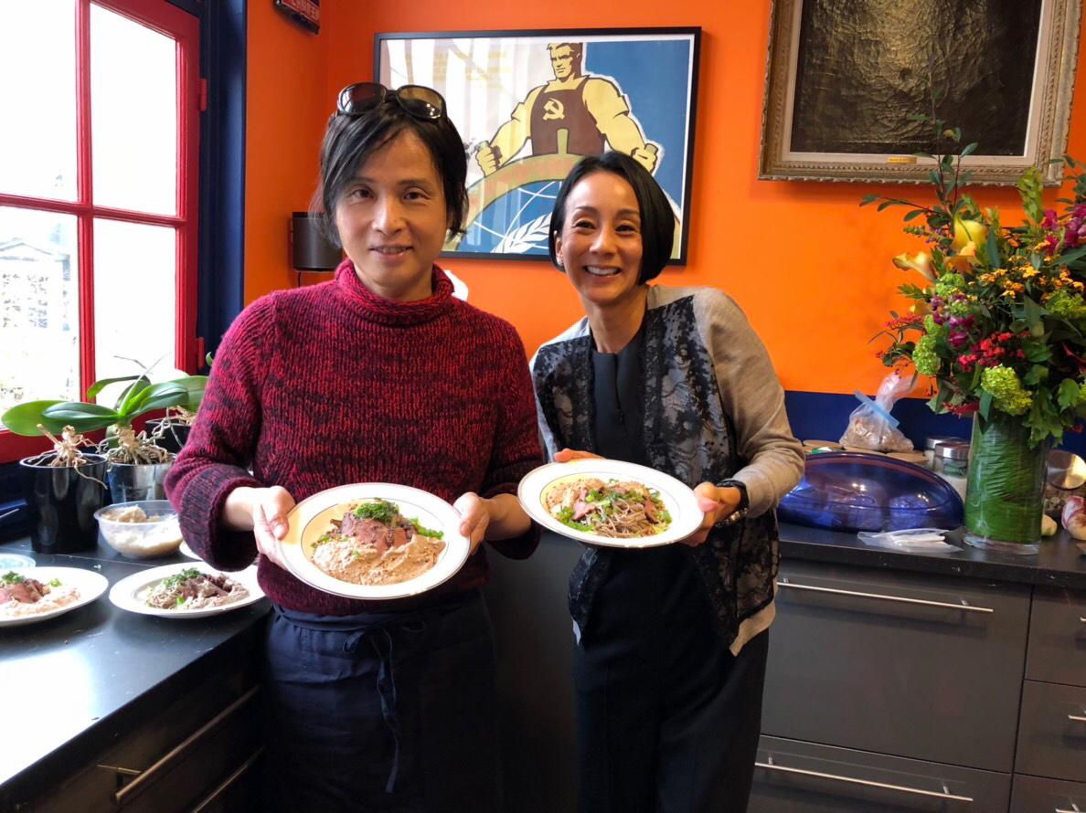 中村江里子邸でのホームパーティ~出張料理人の極意と愉しみ