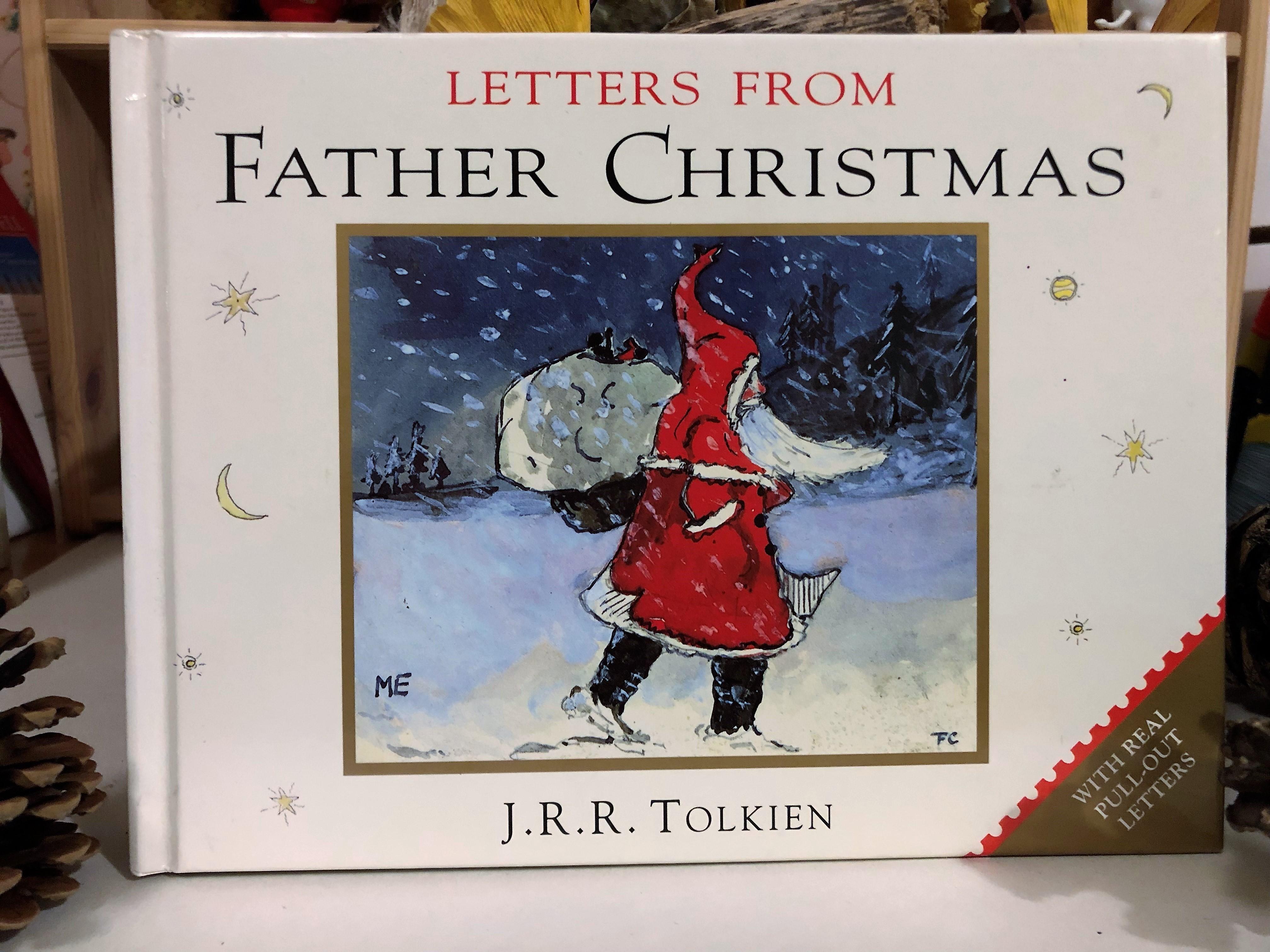 サンタクロースの手紙は、字が震えている