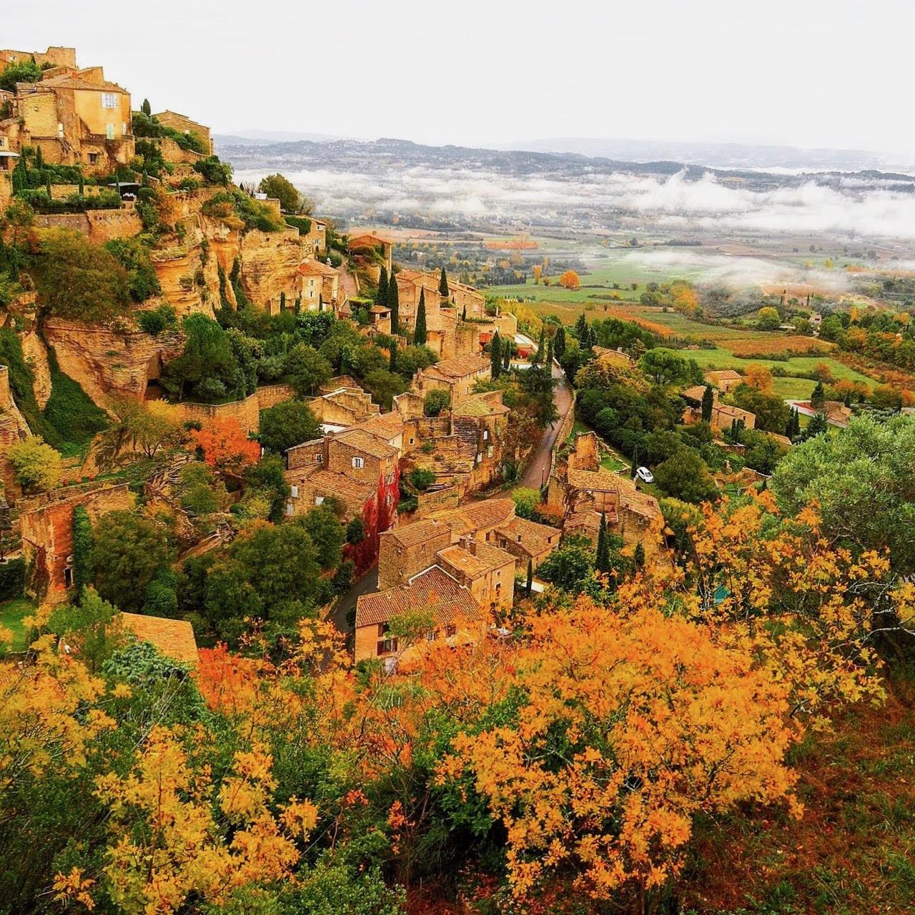 プロヴァンスの美しい村にみる 景観・町並みづくり