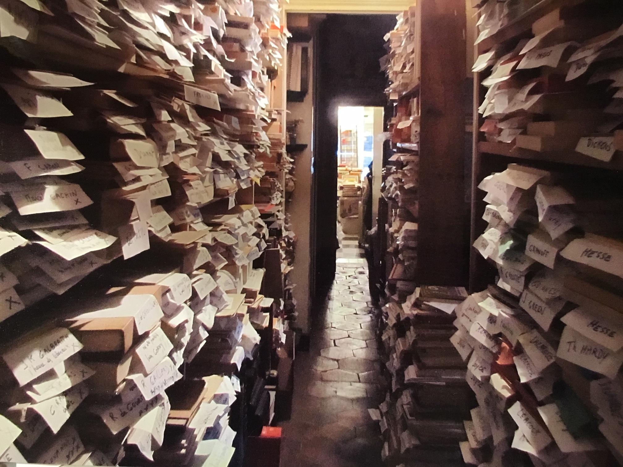 滞仏日記「パリの古本屋で、小説万歳!」