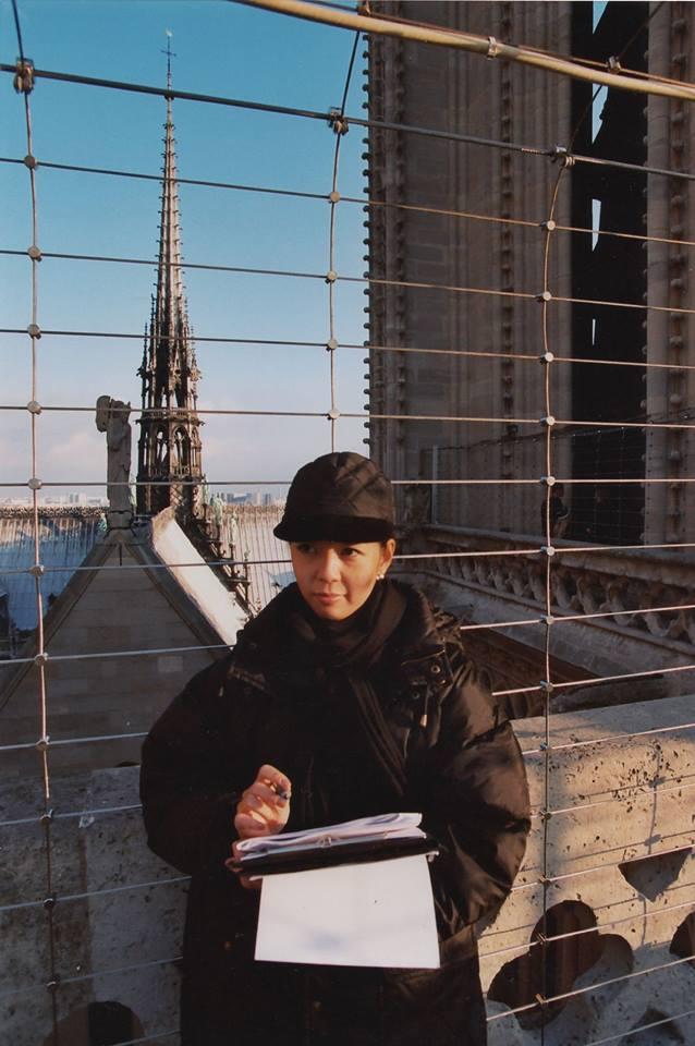 パリ・ノートルダムの光