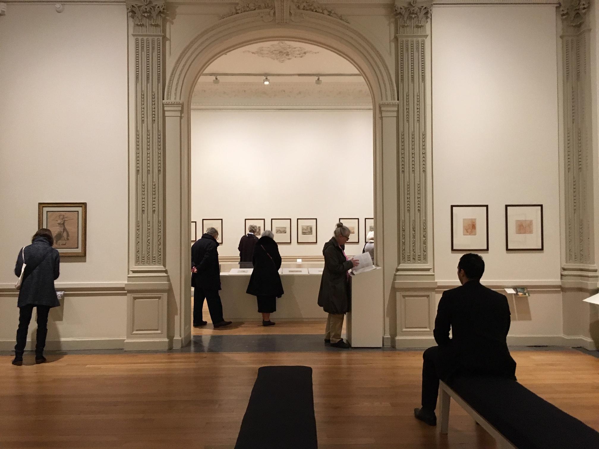 滞仏日記「美術館で僕は人間を鑑賞する」