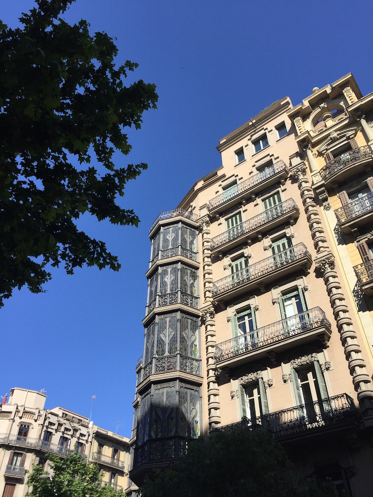 バルセロナの拡張地域 〜美しきアシャンプラ〜
