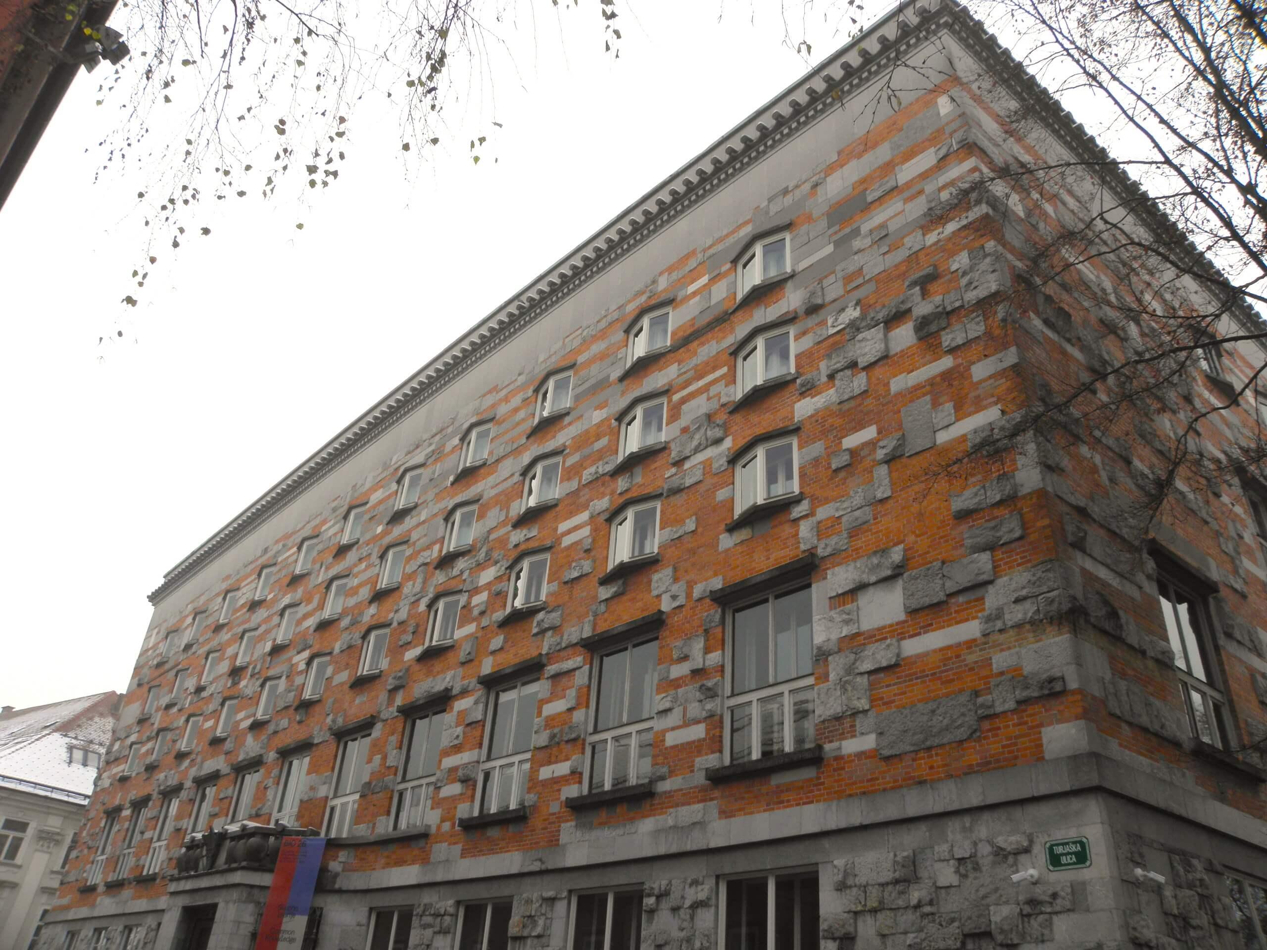 リュブリャナ、建築家プレチュニクと僕らドイツの建築家