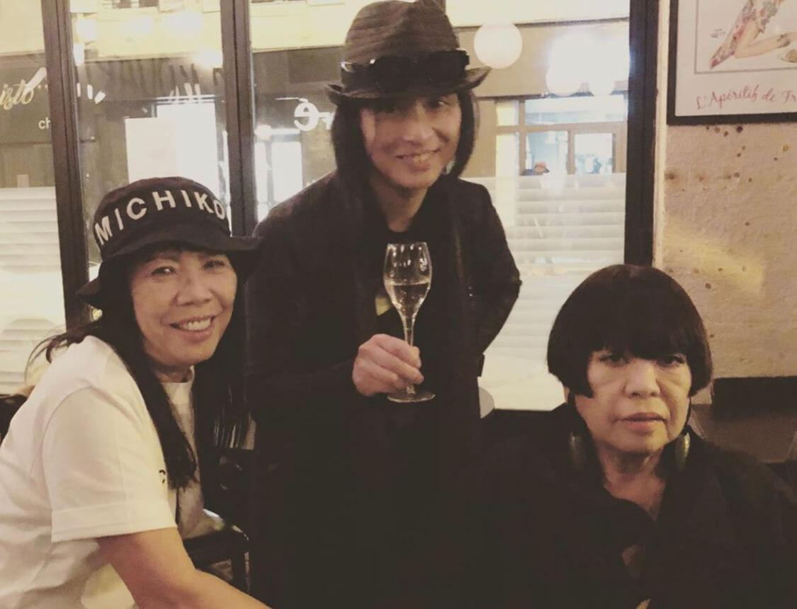 滞仏日記「コシノジュンコさんとコシノミチコさんとうちの息子」