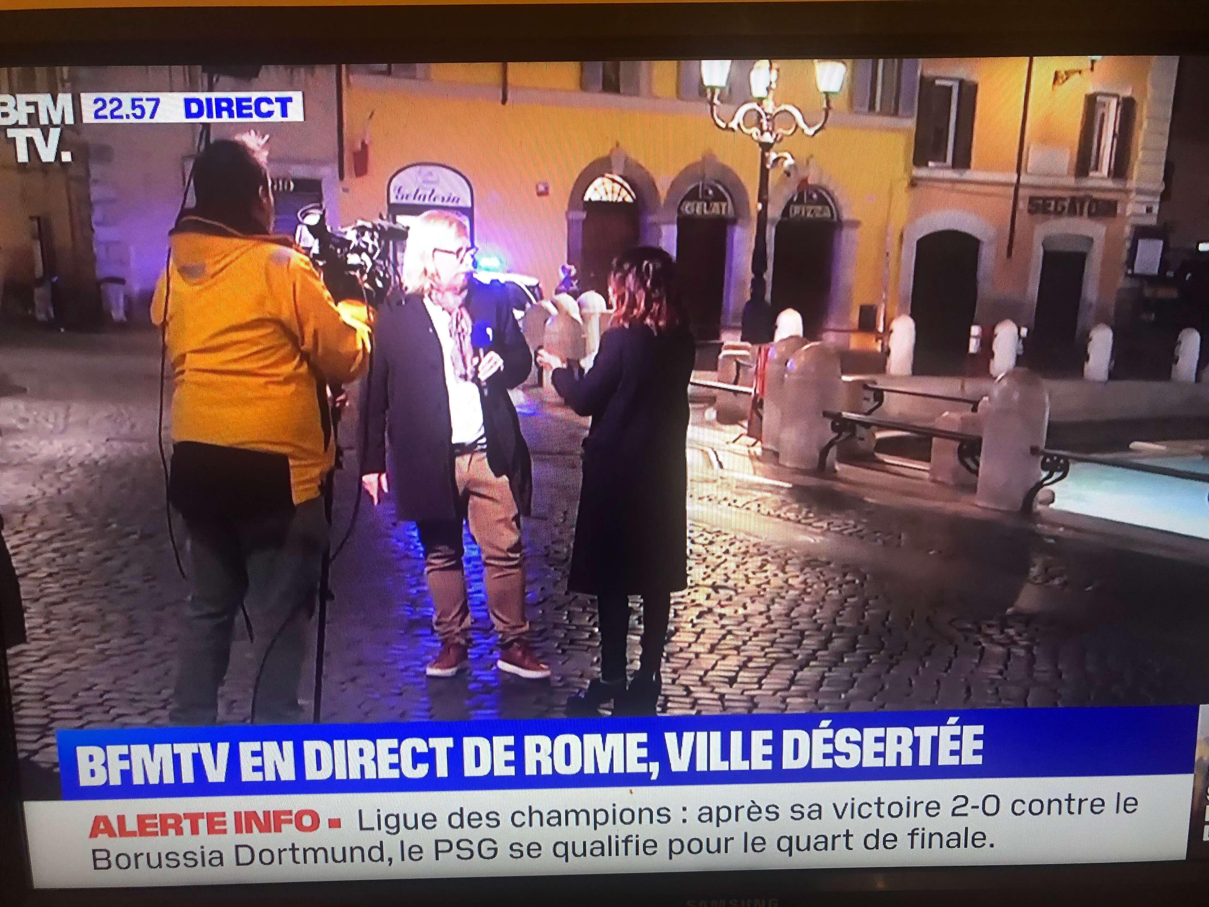 滞仏日記「イタリア全土の封鎖が本格化。外出まで制限」