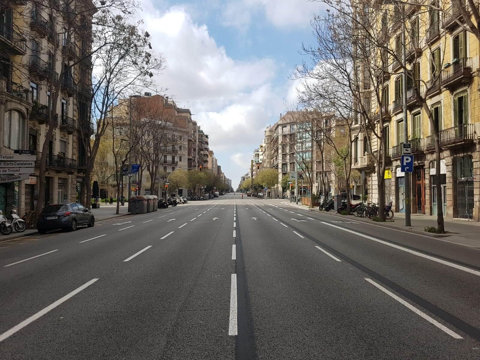 バルセロナ、ロックダウン(外出制限)生活