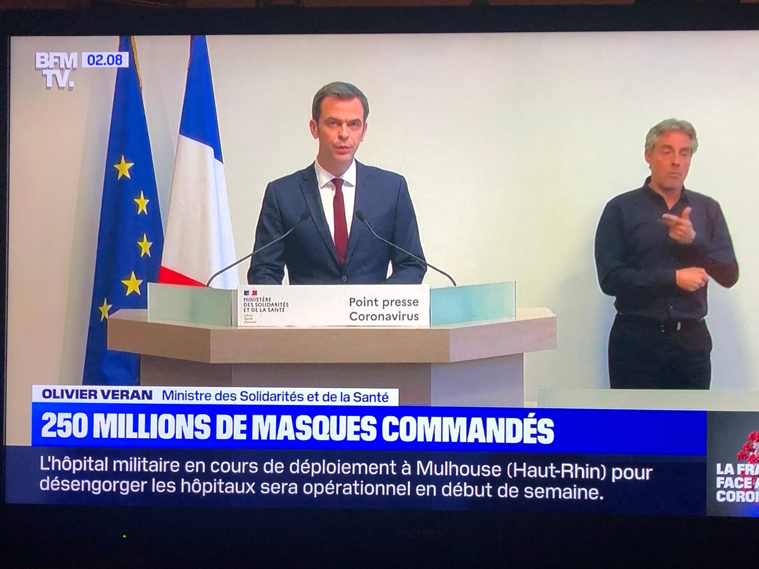 パリ最新情報「果たしてマスクはどこまで有効なのか?」