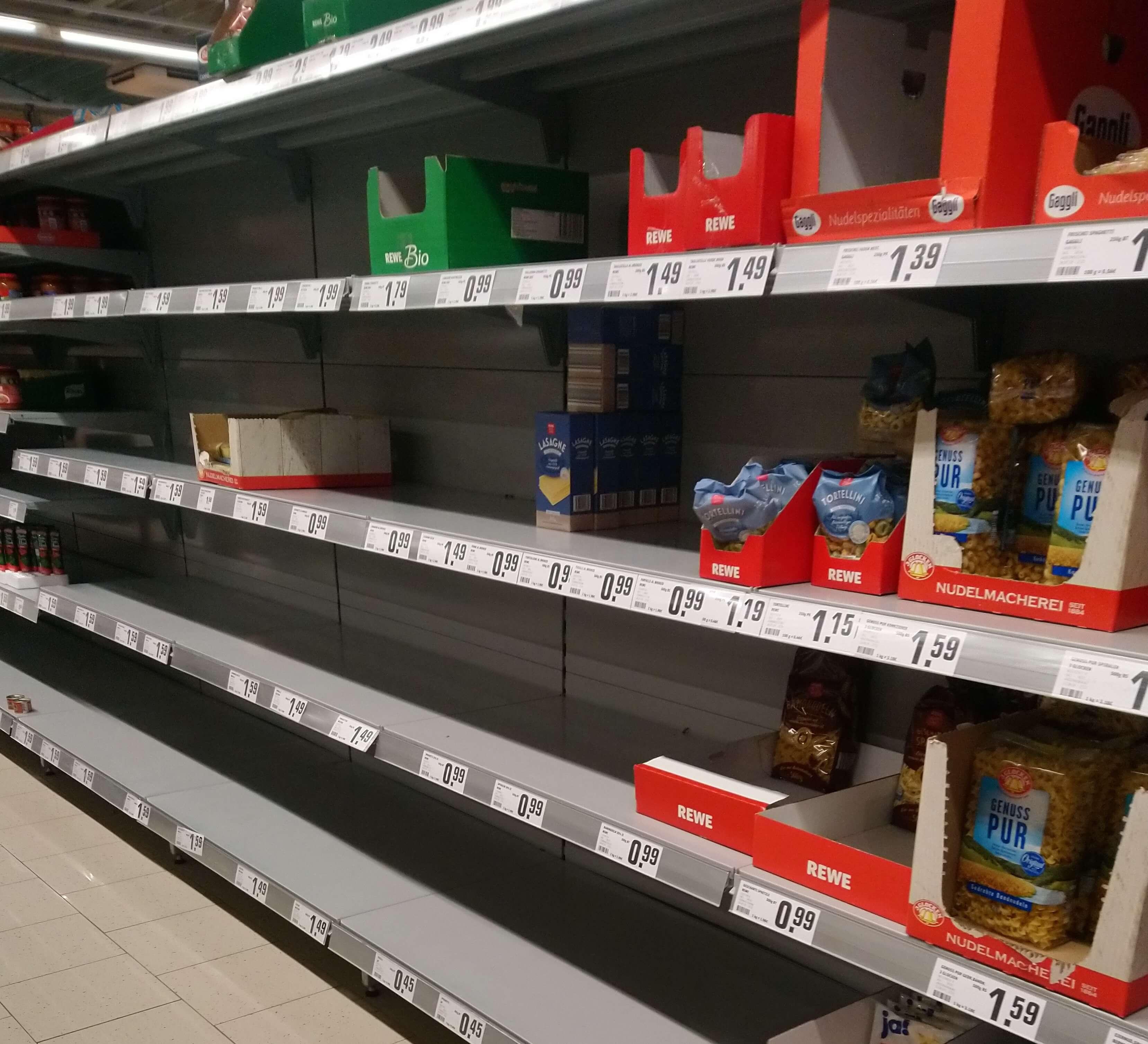 新型コロナ・パニックがドイツを激しく揺さぶりはじめた