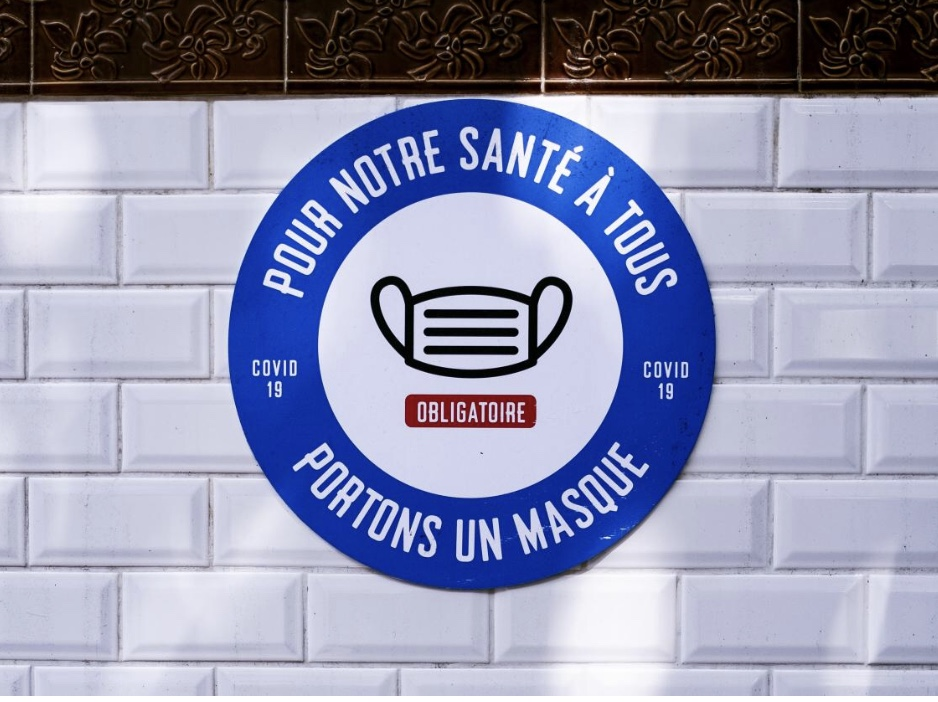 パリ最新情報「メトロでマスク義務化、罰金1万6千円(135€)は効果発揮するか?」