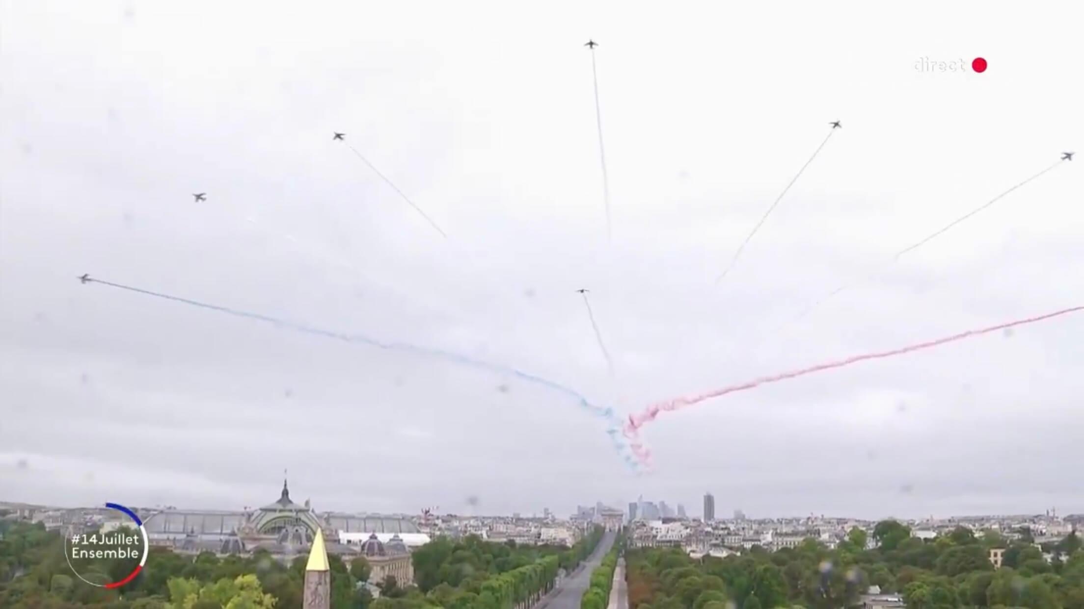 パリ最新情報「静かなパリ祭」