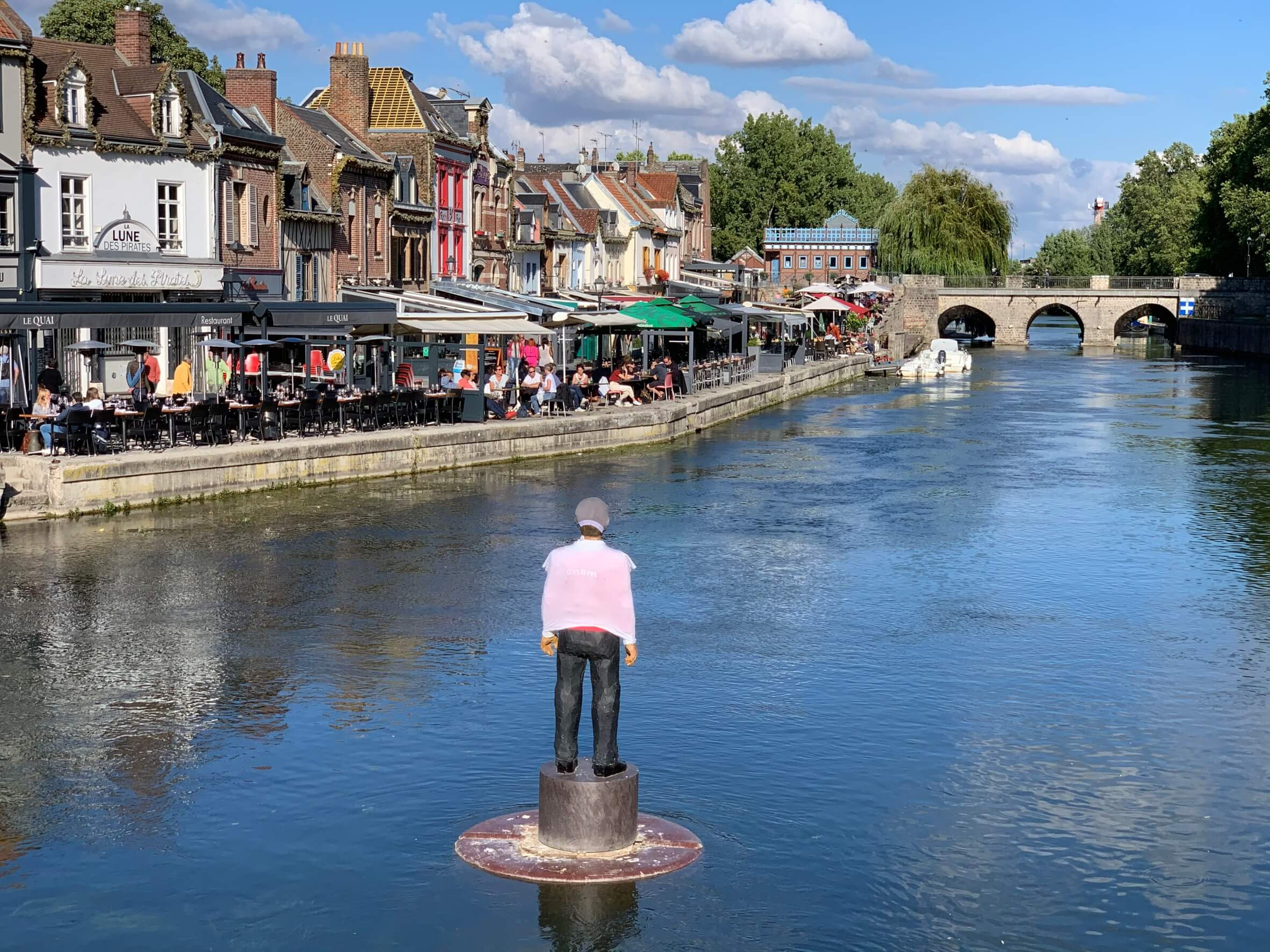 滞仏日記「パリへの帰り道、思わず、息子に説教されてしまう」