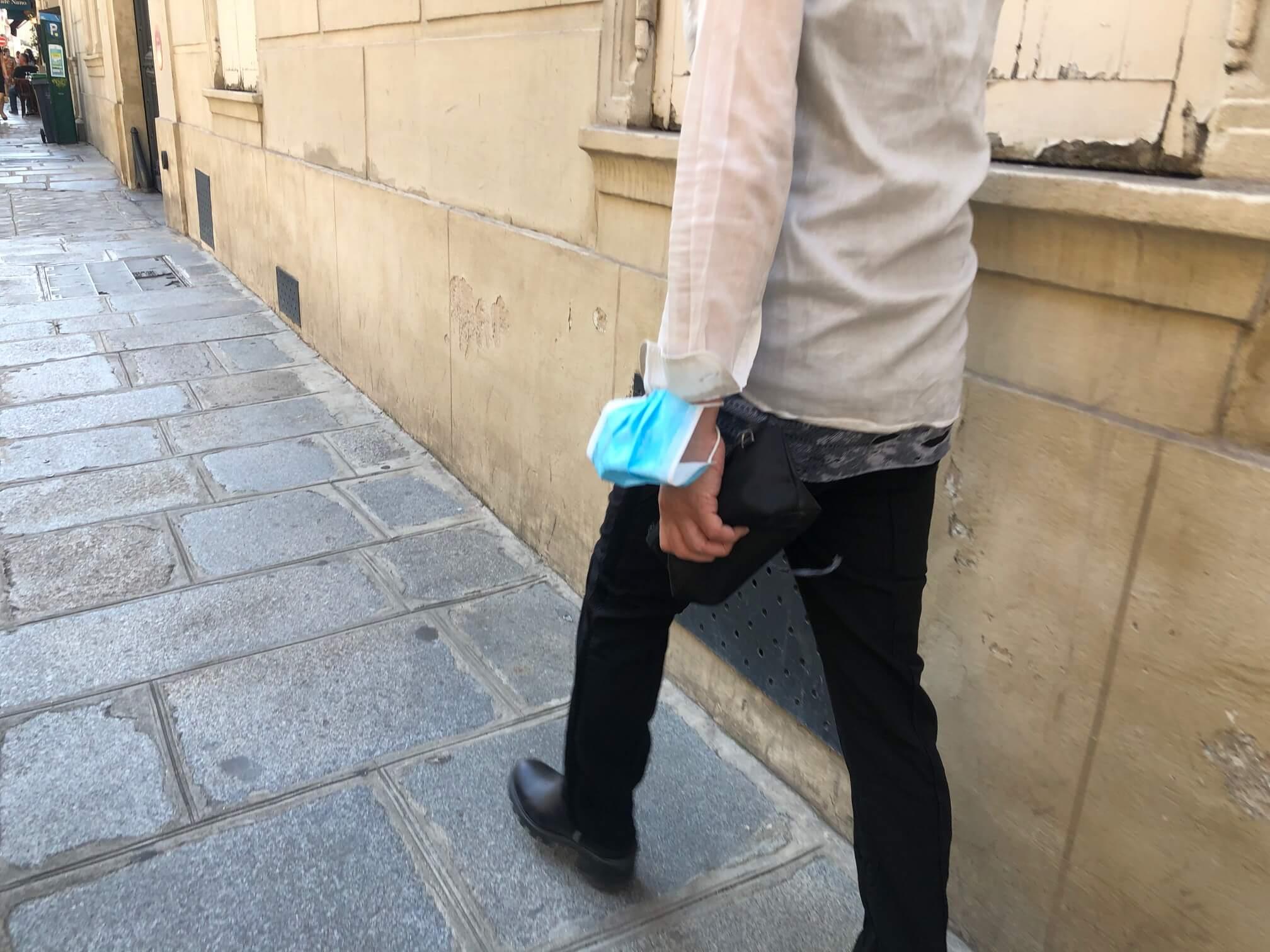 パリ最新情報「フランスでマスク着用がいよいよ義務に」