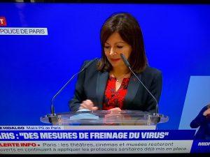 速報、パリ最新情報「パリの飲食業界に厳しい制限が発令されました」