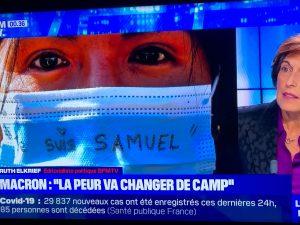 パリ最新情報「教師殺害で連帯を強めるフランス」
