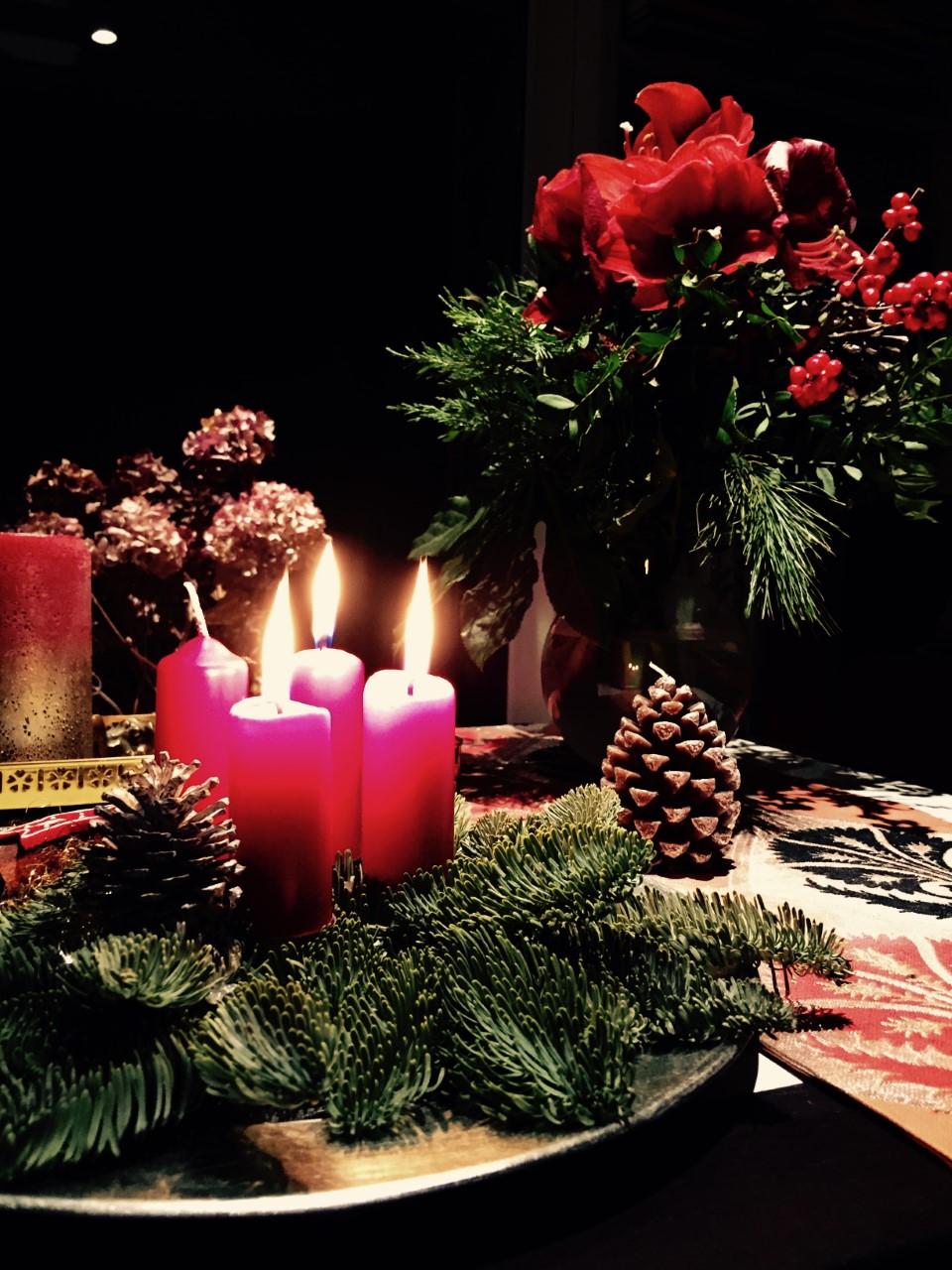 ドイツのクリスマス飾り「アドベント・クランツ」で温かく穏やかなひと時を