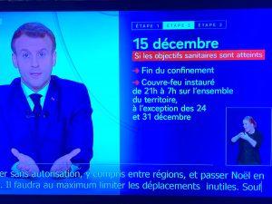 パリ最新情報「フランスのロックダウンは終わらない」
