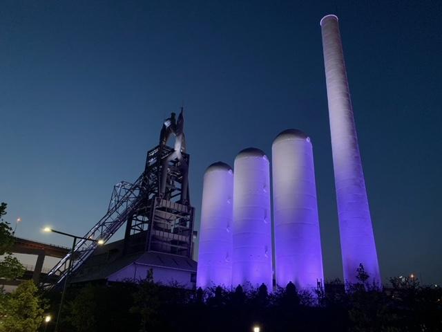 八幡製鉄所とパリを結ぶ光