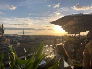 パリ最新情報「ギャラリーラファイエットの屋上ベジタリアン」