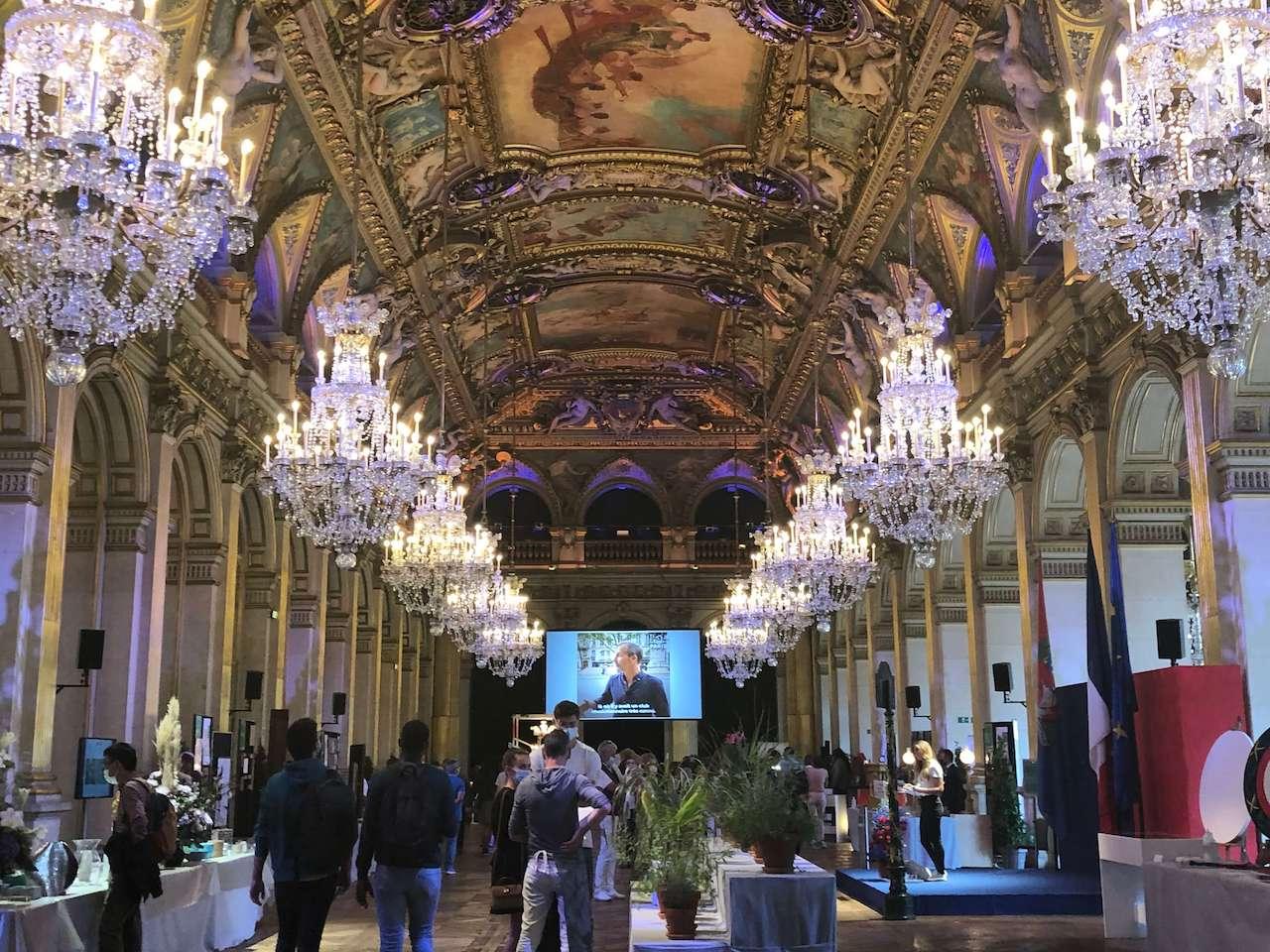 パリ最新情報「ヨーロッパ文化遺産の日、パリ市庁舎の内部を見学」