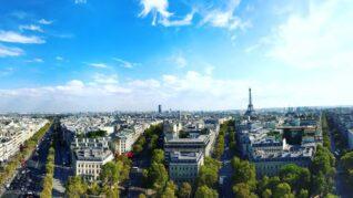 《フランス・ペイザージュ⽇和①》パリの美観は道にあり