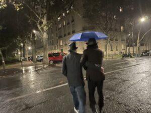 退屈日記「スクープされた!おっさんとの相合傘。カタストロフ!!!」